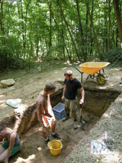 Etruscan Excavation Site